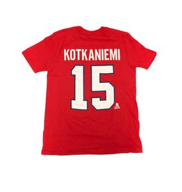 Outerstuff JESPERI KOTKANIEMI #15 KID'S PLAYER T-SHIRT