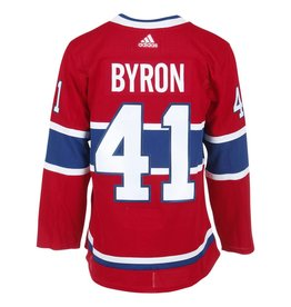 Adidas Chandail authentique Paul Byron collé pro