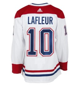 Adidas Guy Lafleur Authentic Pro Heat Press White Jersey