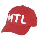 Pop Headwear Casquette CHic MTL Rouge