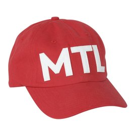 Pop Headwear Casquette chic mtl rouge