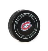 Club De Hockey Game Used Puck February 7 2019 Vs. Jets