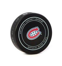 Club De Hockey Brendan Gallagher Goal Puck (22) 9-Feb-19 Vs. Leafs