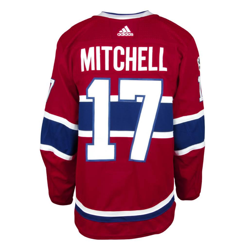 Club De Hockey Torrey Mitchell #17 Home Set 1A 2017-18 Game Worn Jersey