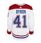 Club De Hockey Paul Byron Set 1 Away Game worn jersey
