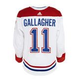 Club De Hockey Brendan Gallagher Set 1 Away Game worn jersey