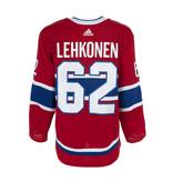 Club De Hockey Artturi Lehkonen Set 1 Home Game worn jersey