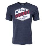 CCM T-shirt tri blend CCM bleu Rocket