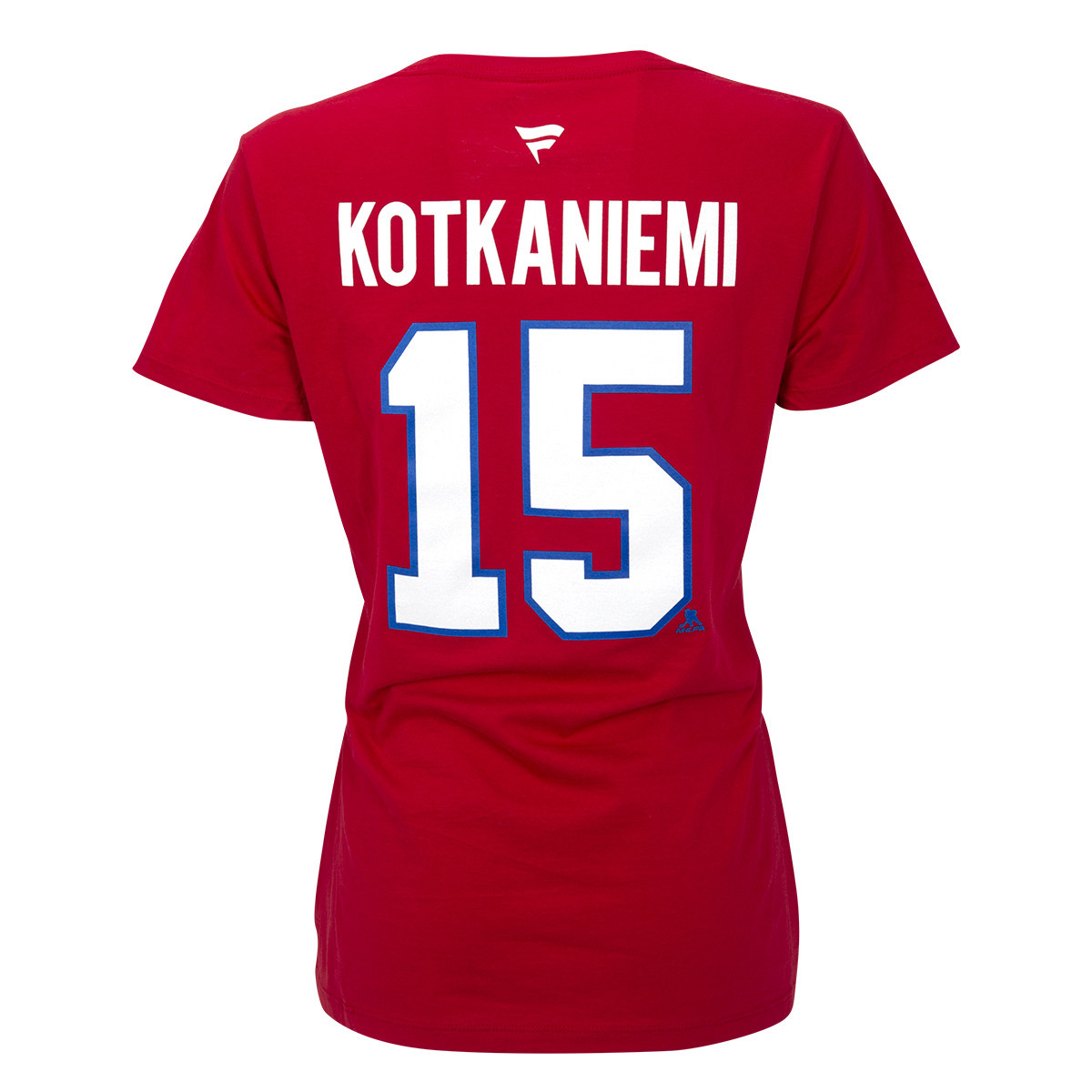 reputable site d64c3 6cb55 Women's #15 Jesperi Kotkaniemi Player T-shirt∣ Tricolore Sports