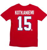 Outerstuff Jesperi Kotkaniemi #15 Junior Player T-Shirt