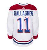 Club De Hockey Brendan Gallagher Set 2 Away Game worn jersey