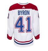 Club De Hockey Paul Byron Set 2 Away Game worn jersey
