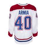 Club De Hockey Joel Armia Set 2 Away Game worn jersey