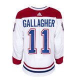 Club De Hockey Brendan Gallagher Set 3 Away Game worn jersey