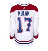 Club De Hockey Brett Kulak Set 3 Away Game worn jersey