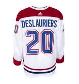 Club De Hockey Nicolas Deslauriers Set 3 Away Game worn jersey
