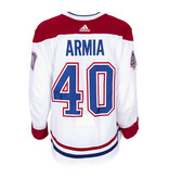 Club De Hockey Joel Armia Set 3 Away Game worn jersey
