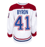 Club De Hockey Paul Byron Set 3 Away Game worn jersey