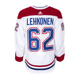 Club De Hockey Artturi Lehkonen Set 3 Away Game worn jersey