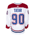 Club De Hockey Tomas Tatar Set 3 Away Game worn jersey
