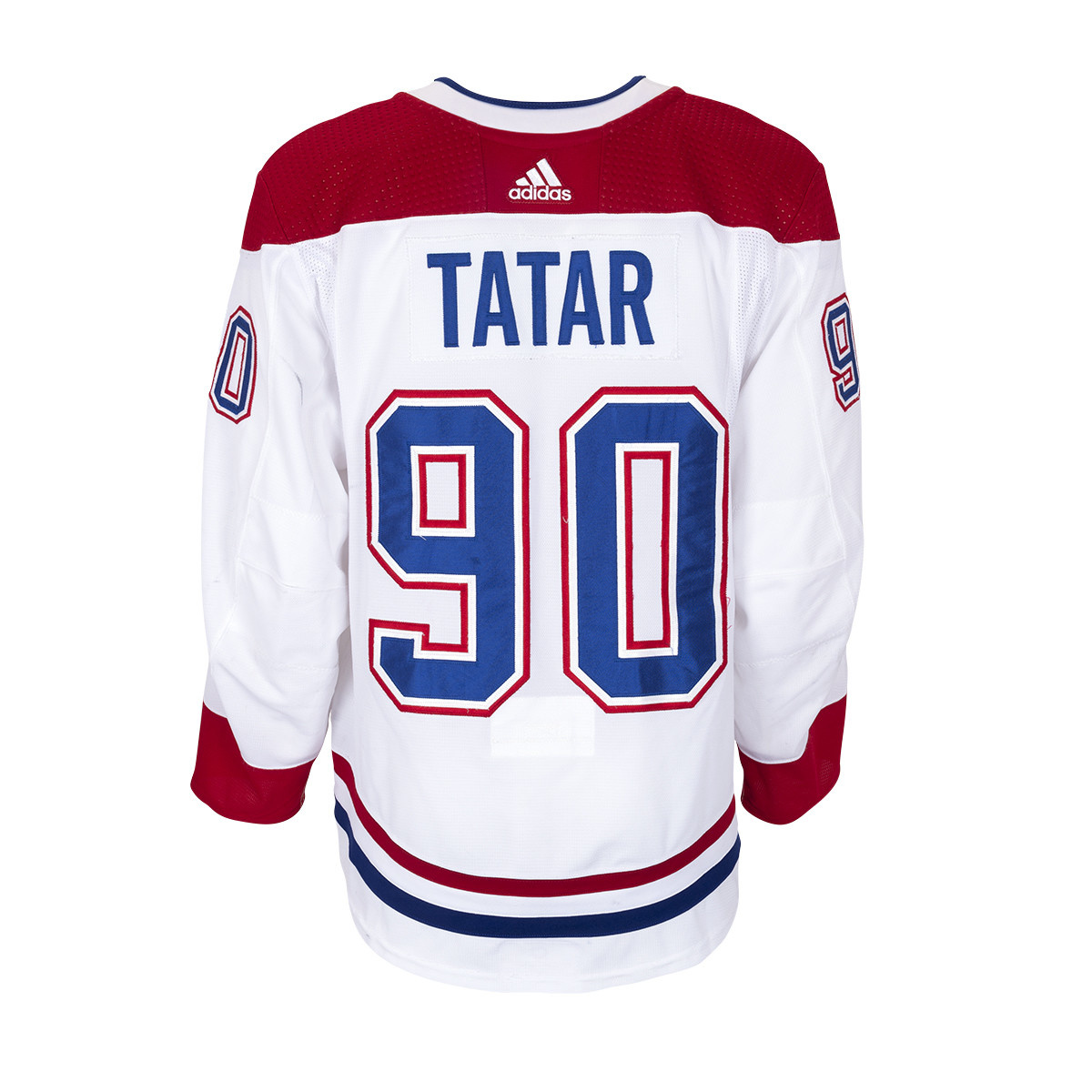 official photos 736b1 15a49 Tomas Tatar Set 3 Away Game worn jersey∣ Tricolore Sports