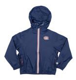 Manteau enfant zip bleu marin o8 lifestyle