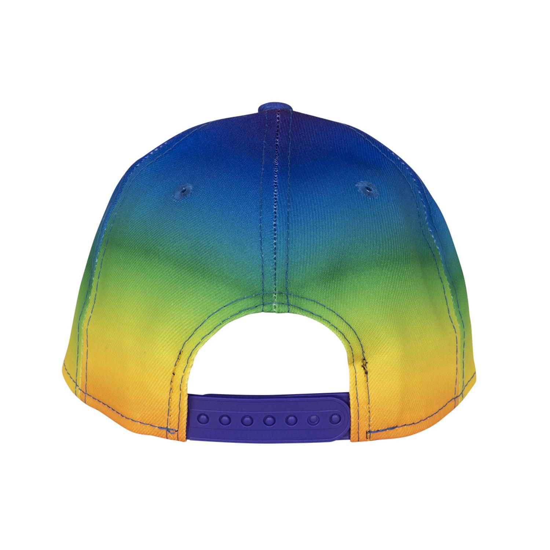 New Era NE201 Black Unstructured Cap Dad Hat w// Rainbow American Flag Gay Pride
