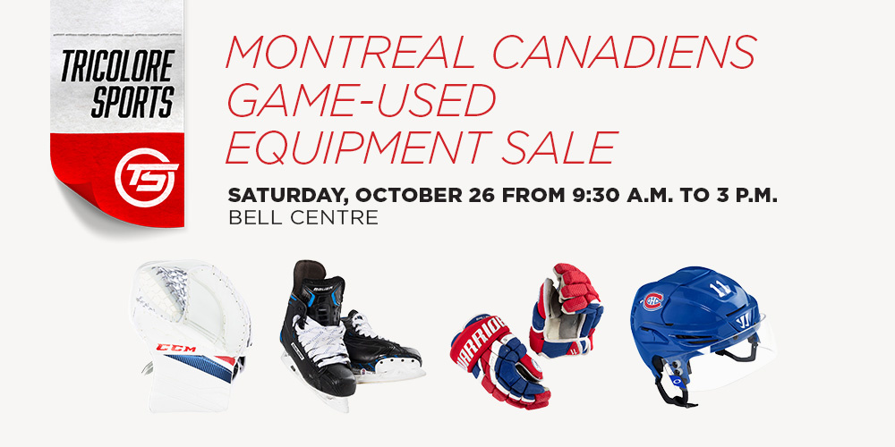 Equipment sale