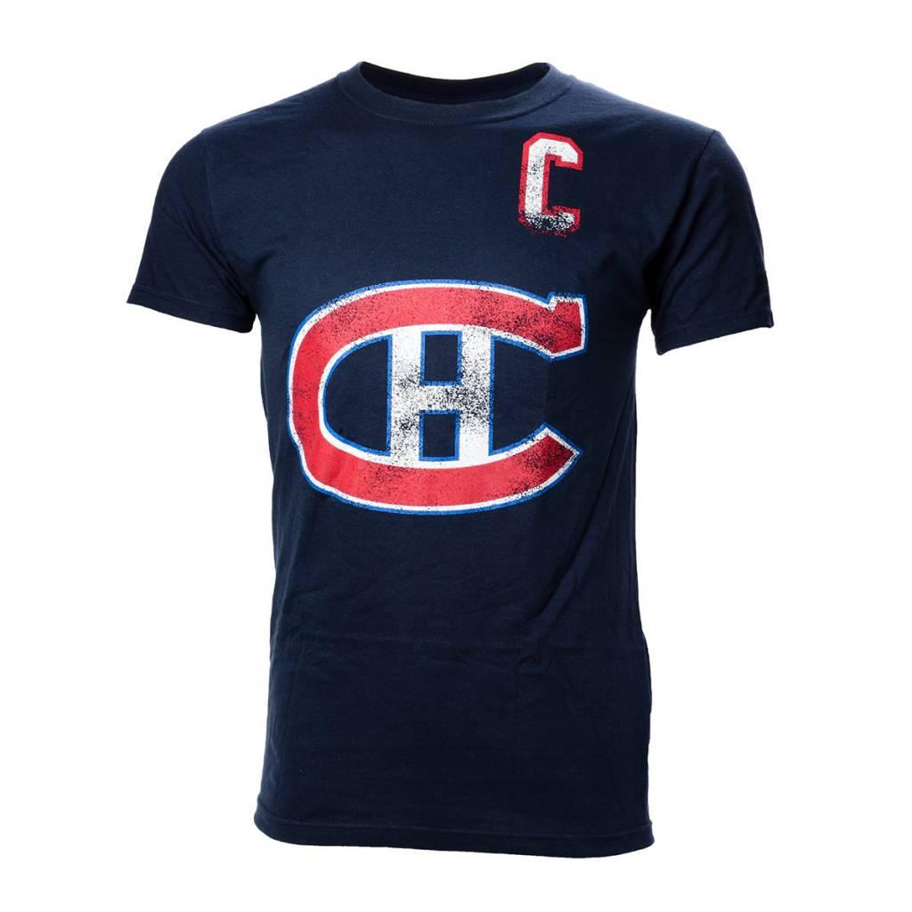 Old Time Hockey M. Richard #9 Player T-Shirt