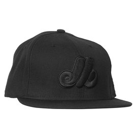 New Era Expos Black On Black Hat