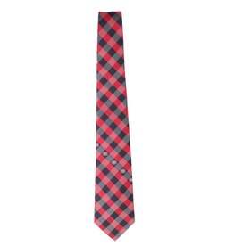 Eagles Wings Checkered Canadiens Tie