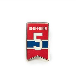 Executive Promotion #5 GEOFFRION PIN