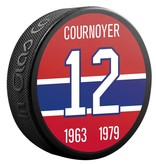 Sher-Wood #12 COURNOYER PUCK