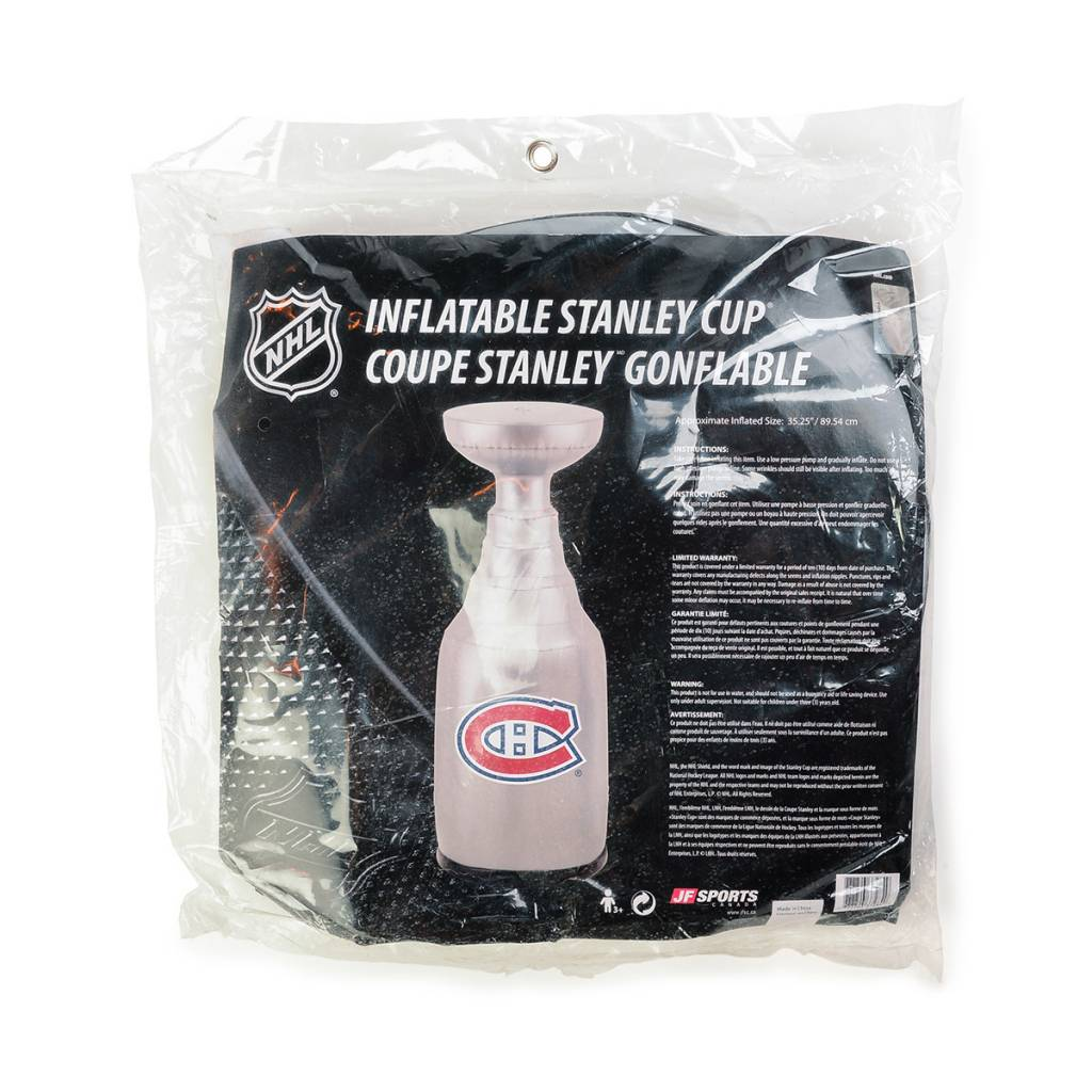 JF Sports Inflatable Stanley Cup Ch - Tricolore Sports 6738d39d6cdc