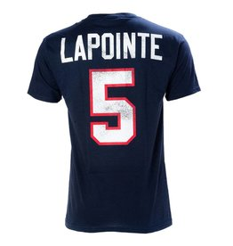 Old Time Hockey T-shirt lapointe #5
