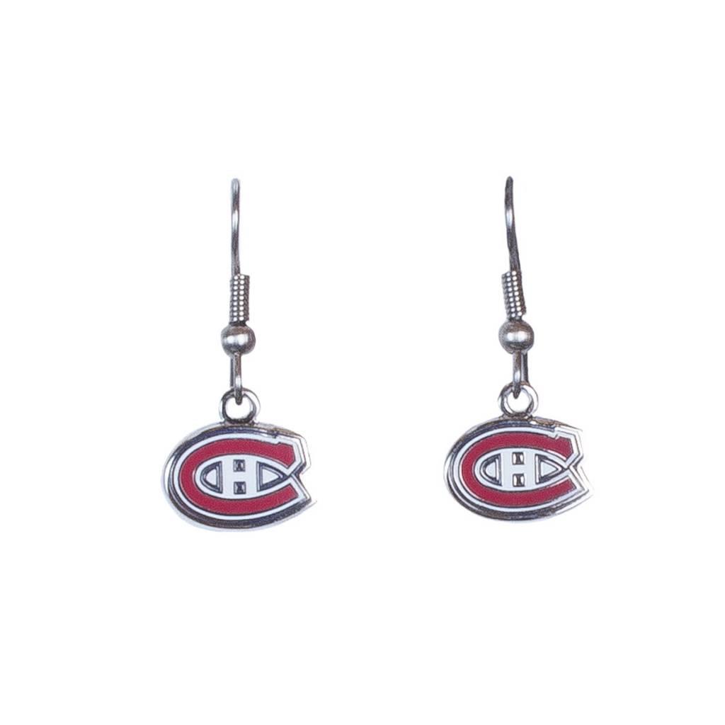 JF Sports CANADIENS LOGO EARRINGS