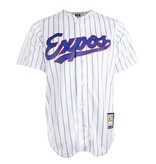 Majestic 1992 Pinstripe Expos Jersey