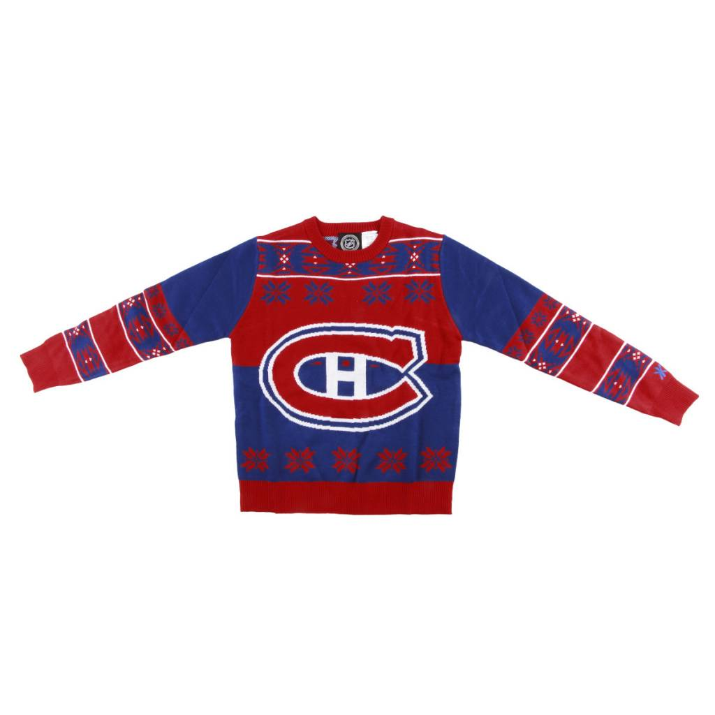 sale retailer 2f45e 0bdce Canadiens Junior Ugly Sweater∣ Tricolore Sports