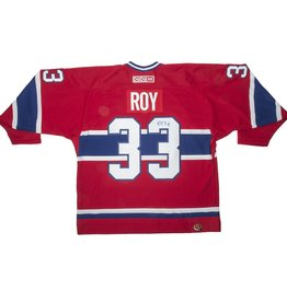 Club Du Hockey Chandail patrick  roy autographié