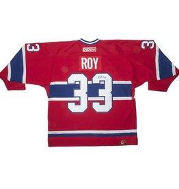 Club Du Hockey CHANDAIL PATRICK  ROY AUTOGRAPHIÉ