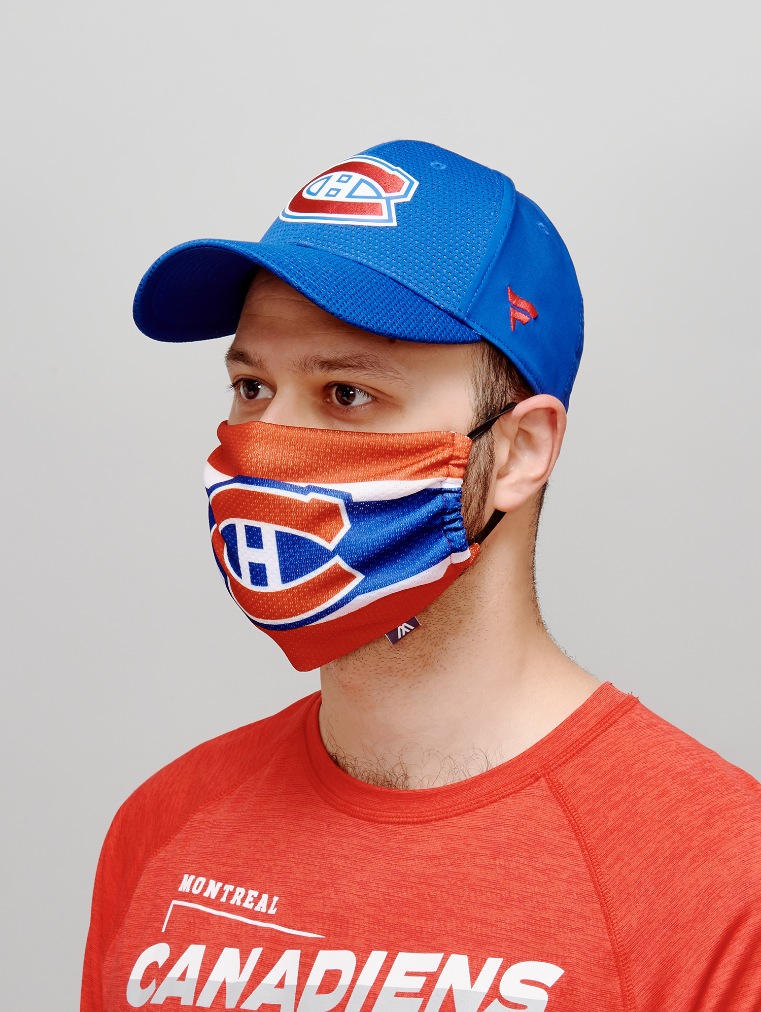 Montreal Canadiens Jersey Face Cover Tricolore Sports