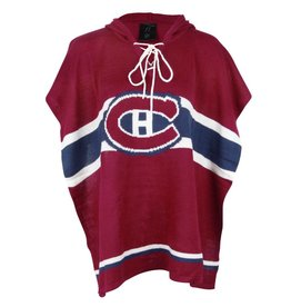 Sportin Scarves WOMEN'S CANADIENS FASHION PONCHO