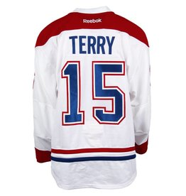Club De Hockey 2016-2017 #15 Chris Terry Away Set 2 Game-Used Jersey