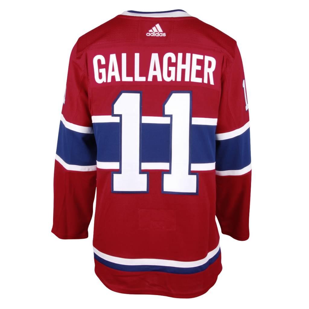 BRENDAN GALLAGHER MONTREAL CANADIENS ADIZERO JERSEY - Tricolore Sports 8c7b78c82