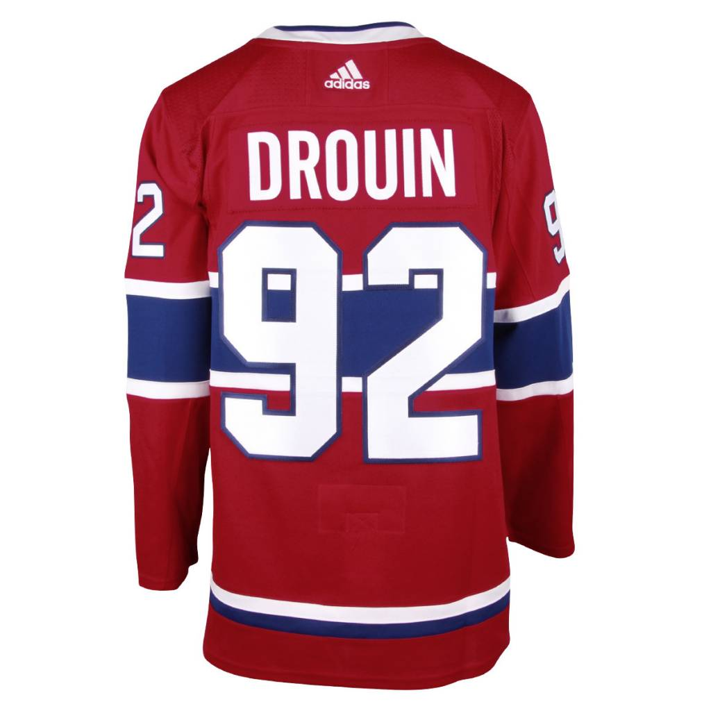 JONATHAN DROUIN MONTREAL CANADIENS ADIZERO JERSEY - Tricolore Sports 5e06274f8