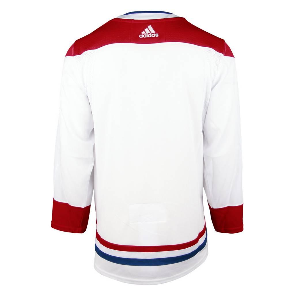 Adidas WHITE ADIZERO AUTHENTIC JERSEY