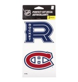 Décalque logos 4x8 rocket canadiens