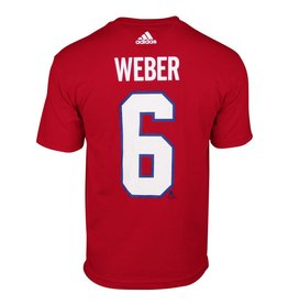 Adidas Shea Weber #6 Player T-Shirt