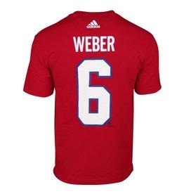 Adidas T-shirt joueur #6 shea weber