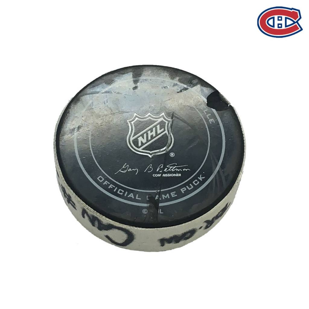 Club De Hockey ALEX GALCHENYUK GOAL PUCK (3) 29-OCT-2016